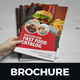 Food Menu Restaurants Brochure Design - GraphicRiver Item for Sale