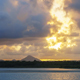 A Beautiful Dramatic Cloudy Sunset on the Noosa River Mouth - VideoHive Item for Sale