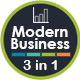 Modern Biz - 3 In 1 Keynote Bundle - GraphicRiver Item for Sale
