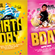 Birthday Party Flyer Bundle