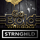 Liquid Gold Event Flyer Template