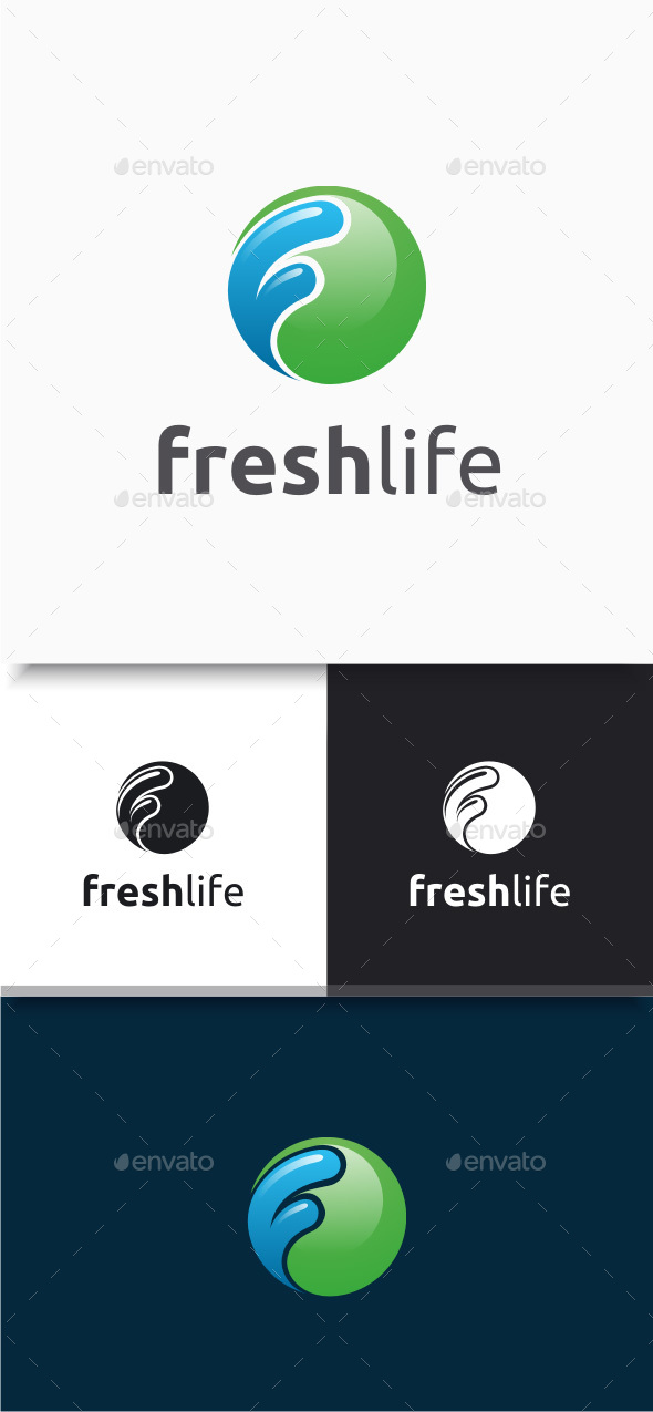 Fresh Life Logo - Abstract Logo Templates