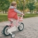 Little Girl on a Pink Bicycle - VideoHive Item for Sale