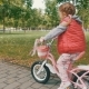 Happy Child Riding a Bike in Outdoor - VideoHive Item for Sale