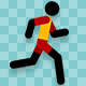 Stickman Run And Tired - VideoHive Item for Sale