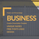 Business - Simple Google Slides Template - GraphicRiver Item for Sale