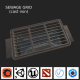 Sewage grate LOW PBR - 3DOcean Item for Sale