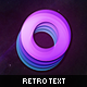 Retro Text Effect - GraphicRiver Item for Sale