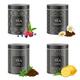 Realistic Blak Tea Tins Set