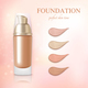 Cosmetic Foundation Concealer Cream Realistic