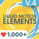 Liquid Motion Elements - VideoHive Item for Sale