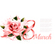 Pink Rose with Ribbon - GraphicRiver Item for Sale