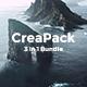 3 in 1 CreaPack Powerpoint Bundle Template