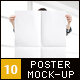 10 Poster Mock-Up (Female Model) - GraphicRiver Item for Sale