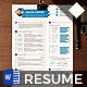 Diamond Resume CV Template - GraphicRiver Item for Sale
