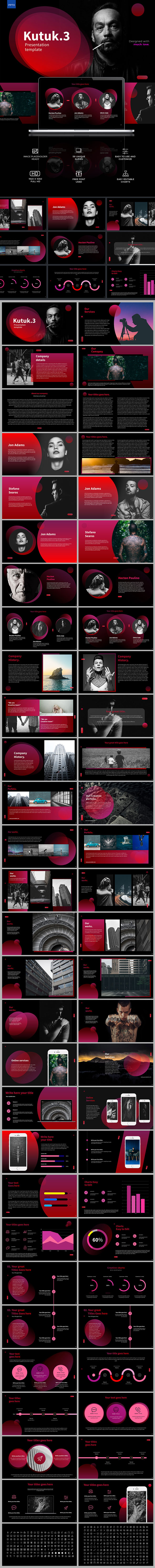 Kutuk-3 Powerpoint Template - PowerPoint Templates Presentation Templates