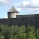 Beautiful Medieval Ivangorod Fortress as Touristic Attraction on Russian Estonian Border - VideoHive Item for Sale