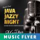 Java Jazzy Night Music Flyer / Poster