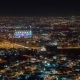 Doha Skyline Video with Night Lights in Qatar, Middle East - VideoHive Item for Sale