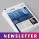 Blue Multipurpose Newsletter