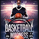 Basketball Madness Flyer