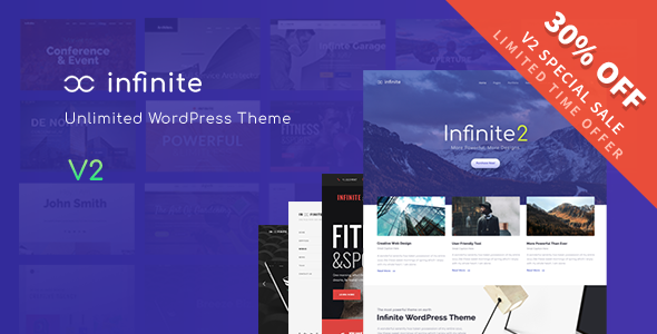 Infinite - Responsive Multi-Purpose WordPress Theme - Corporate WordPress