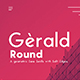 Gerald Round Sans Font - Geometric Elegant Soft Typeface - GraphicRiver Item for Sale