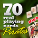 Pirate set : 70 real playing cards for gaming - GraphicRiver Item for Sale