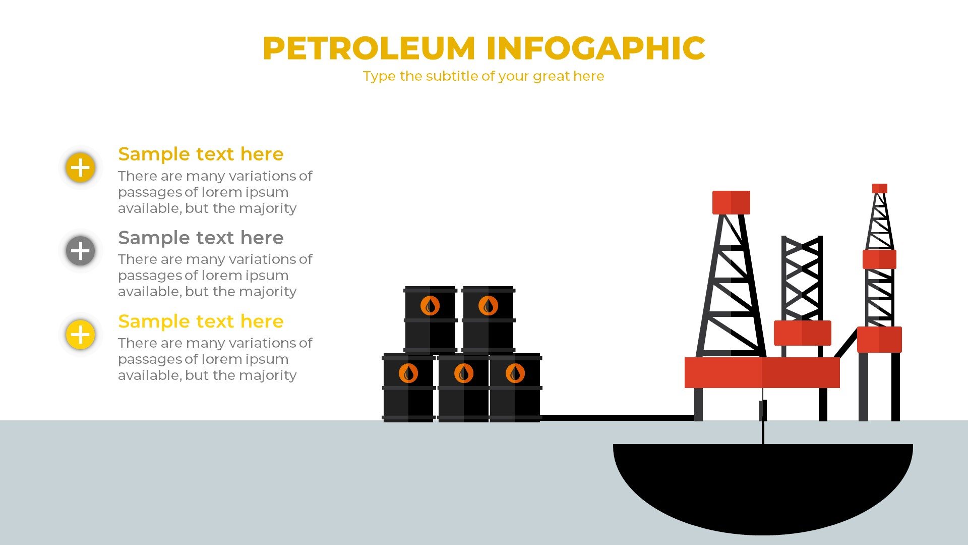 Petroleum powerpoint template by berfbox graphicriver petroleum powerpoint template toneelgroepblik Images