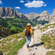 Dolomiti - hiker in Badia Valley - PhotoDune Item for Sale