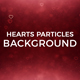 Hearts Particles Background - VideoHive Item for Sale