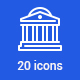 20 Business and Finance Icons - GraphicRiver Item for Sale
