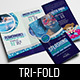 Local Swimming Pool Tri-Fold Brochure Template - GraphicRiver Item for Sale