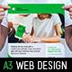 Web Design Service Poster Template