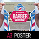 Barber Shop Poster Template - GraphicRiver Item for Sale