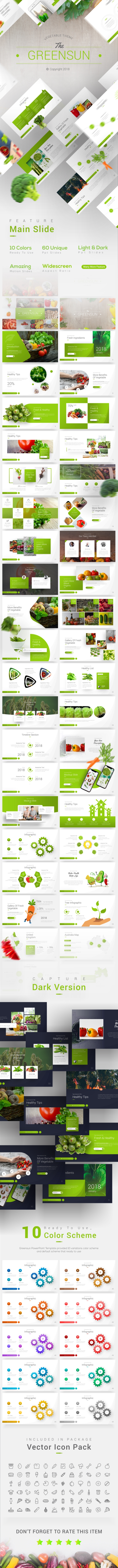 The Greensun Presentation Template - PowerPoint Templates Presentation Templates