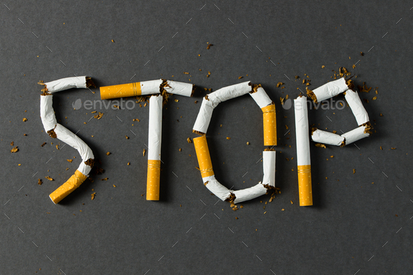 Stop smoking concept - Stock Photo - Images
