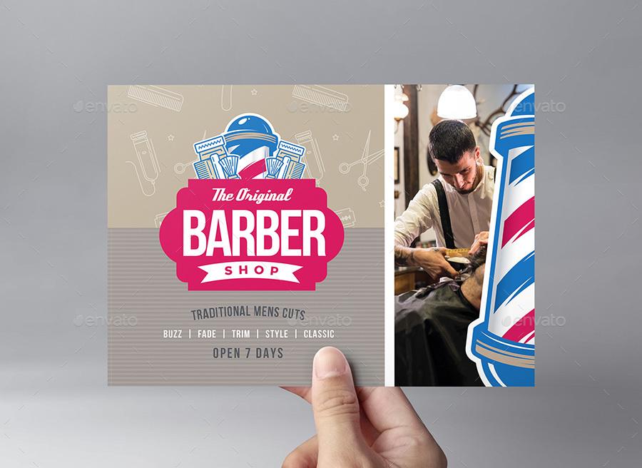 Barber Shop Flyer Template By Brandpacks Graphicriver