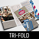 Barber Shop Tri-Fold Brochure Template - GraphicRiver Item for Sale