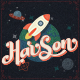 Harson: Inter-Galactic Typeface