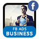 Business Solutions Facebook Ad Banners - AR - GraphicRiver Item for Sale