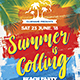 Summer Calling / Beach Party Flyer
