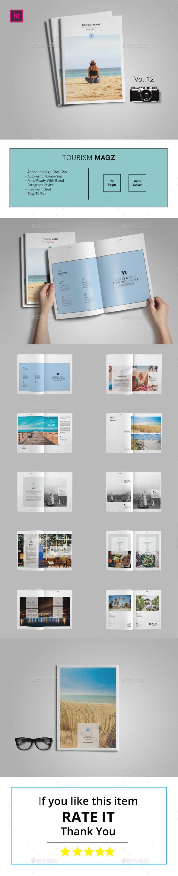 Tourism Magz Vol.12 - Magazines Print Templates