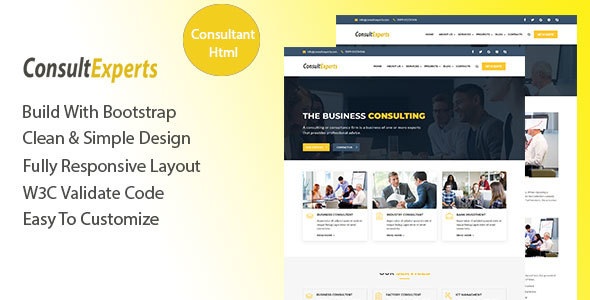 Image of ConsultExpert – Consulting Business Template