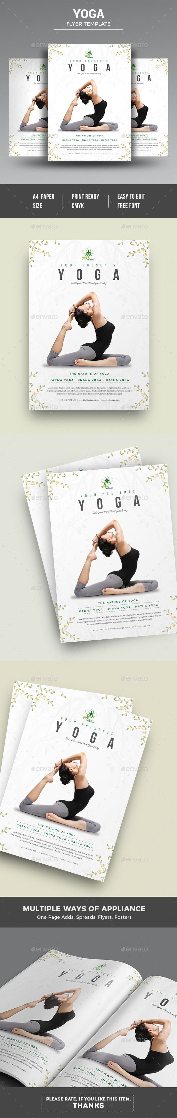 Yoga Flyer - Commerce Flyers