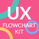 Usercible UX Flowchart Kit - Light Solids - GraphicRiver Item for Sale
