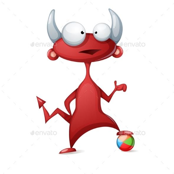 Cartoon Devil - Miscellaneous Vectors