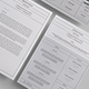 Modern CV Resume Templates - GraphicRiver Item for Sale