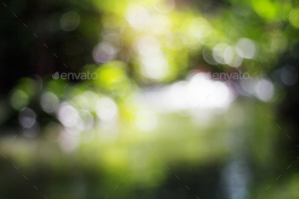 River blur with background - Stock Photo - Images