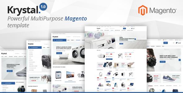 Krystal - Multipurpose Magento 2 Theme